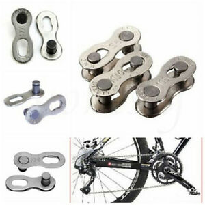 2X Bicycle Bike Chains Connector for 8/9/10 Speed Quick Master Link Joint Chain