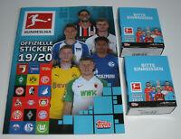 Topps Bundesliga Sticker 2019/2020 - Leeralbum + 2 x Display / 72 Tüten
