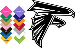 Atlanta Falcons Vinyl Sticker Decal (BUY 2 GET 1 FREE)-Multi-Colors Option