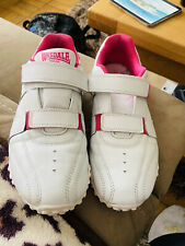 Good Condition Lonsdale Pink & White Size 6 Trainers