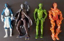 RARE Marvel Legends 4 pc Lot - Nightcrawler Green Goblin Mystique Human Torch