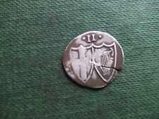 OLIVER CROMWELL.  COMMONWEALTH. 1649-1660.  SILVER HALFGROAT.   NICE CONDITION
