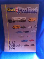 Revell praline 1:87 Collection 1989 folleto