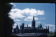 1950s red border Kodachrome photo slide Ottawa Canada    cars