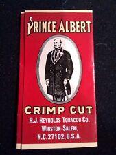 Vintage PRINCE ALBERT Crimp Cut Cigarette Rolling Papers 2 Packs