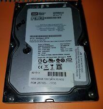 """Western Digital 250GB Internal 7200RPM 3.5"""" (WD2500AAJS-22VTA0) HDD"""