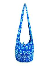 COOL UNISEX SUMMER BLUE BAG SLING SHOULDER ADVENTURE TURTLE PRINT HOBO CROSSBODY