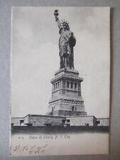 CPA (USA) - NEW YORK CITY : STATUE OF LIBERTY - LA STATUE DE LA LIBERTE