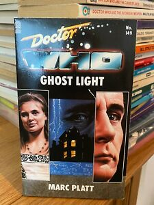 doctor who target book -  GHOST LIGHT - 1st edition