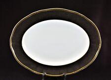 "Wedgwood – Crown Ebony – Bone China – 14"" Serving Platter"