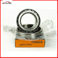1 Set Timken 18590 & 18520 Cup & Cone Tapered Roller Bearing Set Brand New USA