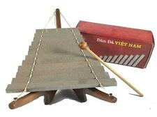 More details for fair trade vietnamese stone xylophone dan da wooden gift boxed vienam wood stick