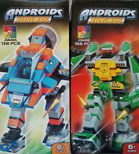Woma ROBOT Transformer Kampfroboter Bausteine Set J5649A