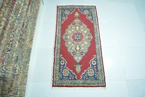 Small Rug 1.6x3.2,Turkish Rug,Antique Rug,Door Mat,Vintage Rug,Boho Decor Rug.