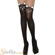 FEMMES CHAT collant Halloween Sorcière Accessoire déguisement