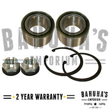 x2 FRONT WHEEL BEARING FOR A VAUXHALL MOVANO 1.9 2.2 2.5 2.8 3.0 98-ON *NEW*