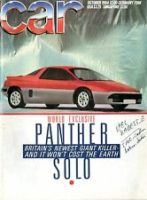1984 CAR MAGAZINE 10 PANTHER SOLO RENAULT 5 ASTRA PORSCHE 911 PADDY WAGON