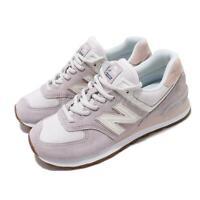 New Balance 574 Purple Pink White Gum Women Casual Shoes Sneakers WL574SAX B