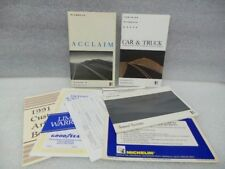 Plymouth Acclaim 1991 Owners Manual 16648