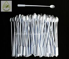 "Coffee Tea Mini Spoons Plastic 5"" Stirrer Disposable Accessories Utensil 100+10"