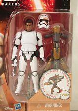 "STAR WARS Force Awakens 3.75"" FINN Stormtrooper FN-2187 BLOODY HELMET Figure NEW"
