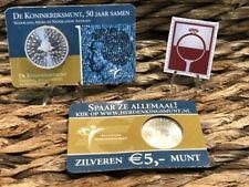 COINCARD - CC - NEDERLAND 2004 - 5 EURO HERDENKINGSMUNT - DE KONINKRIJKSMUNT