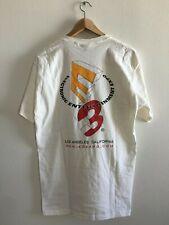 E3 VTG 90s White Shirt Electronic Entertainment Nintendo Sony Microsoft - LARGE