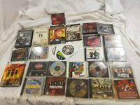Lot of 25 Original Vintage PC Games Windows all nice titles grand theft oblivion