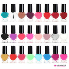 24 x Nail Polish Varnish Set for Artificial Nails 24 Different Colours UK Seller