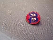 VINTAGE BUTLINS HOLIDAY CAMP BEAVERS CLUB ENAMEL BADGE - GAUNT LONDON