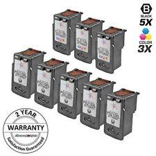 8 PK SET PG-210XL CL-211XL Black & Color  Ink Cartridge for Canon PIXMA MX360