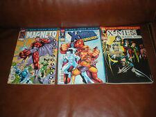 X-MEN HORS SERIE - LOT DES 3 PREMIERS TOMES - MARVEL FRANCE PANINI COMICS 2001
