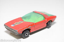 LESNEY MATCHBOX SUPERFAST 40 VAUXHALL GUILDSMAN RED GOOD CONDITION