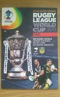 NEW ZEALAND V AUSTRALIA RUGBY LEAGUE  WORLD CUP FINAL 2013.