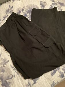 Two Pairs Of Mens Propper Tactical Black Pants Size 44/32