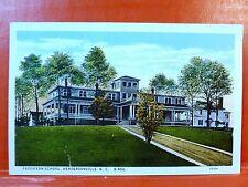 Postcard NC Hendersonville Fassifern School