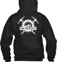 316 Mining Classic Tees And S - Gildan Hoodie Sweatshirt