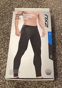 Brand New Men's 2XU Accelerate Compression Tights Size XL $99.95 Value