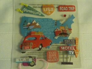 ROAD TRIP ! 1 PACK  BY JOLEE'S BOUTIQUE.