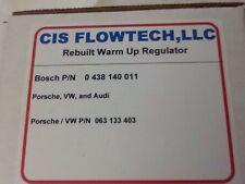 Porsche 924 VW Audi 063133403 Bosch 0438140011 Rebuilt Warmup Regulator