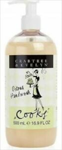 Crabtree  Evelyn COOKS  Citrus Hand Wash  16.9 oz