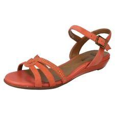 Sandali e scarpe formale zeppa in camoscio per il mare da donna