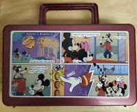 Rare 1990s Walt Disney Whirley Cook'd Up Comics MICKEY Lunch Box  Vol. 1, No.5
