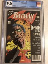 Batman #428 (1988, DC) CGC 9.0 DEATH OF ROBIN