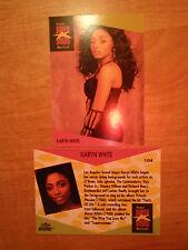 Karyn White ProSet Super Stars MusiCards trading cards: US #104 & UK #148