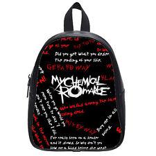 My chemical romance Custom School Bag Student Backpack Shoulder Bag(Large)