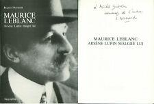 Jacques Derouard - Maurice Leblanc, Arsène Lupin malgré lui - Envoi - EO 1989