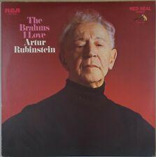 RUBINSTEIN The Brahms Love RCA-LSC-3186 Red Seal NM