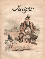 1890 Judge April 5 - Germany goes it alone; Political thieves will always return