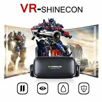 New VRShinecon 6.0 Virtual Reality 3D Video Game Glasses Headset for android ios